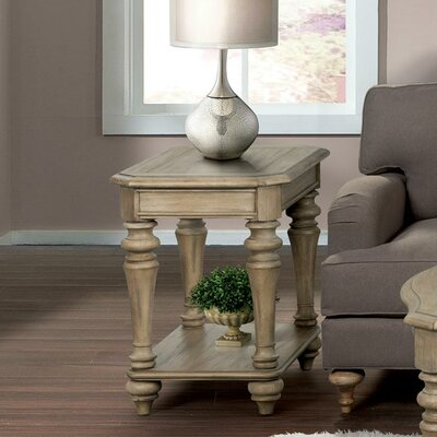 Virgouda End Table Finish: Sun-drenched Acacia finish