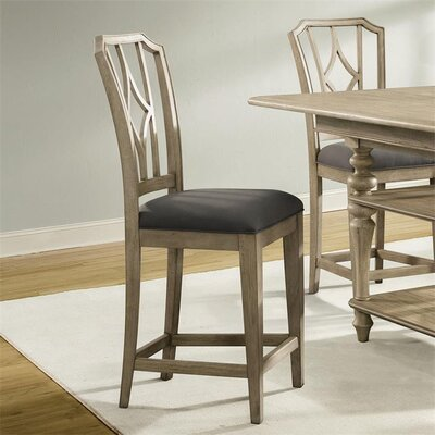 Paredes Upholstered Diamond Back Dining Chair (Set of 2) Finish: Sun-drenched Acacia