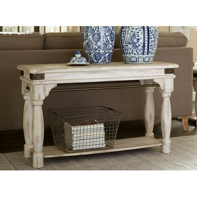 LaShun Rustic Console Table