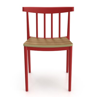 Octavia Side Chair Finish: Red