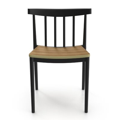 Octavia Side Chair Finish: Black