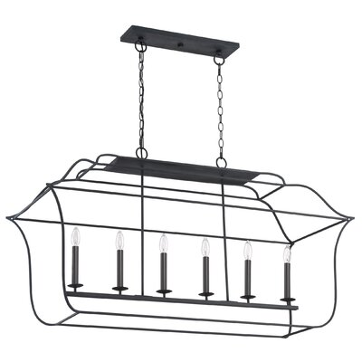 Chloe 6-Light Kitchen Island Pendant