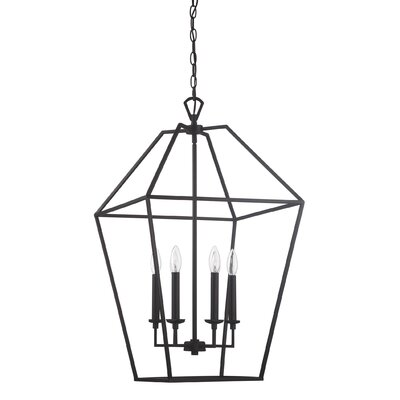 Iona Polished Nickel 6-Light Foyer Pendant Finish: Palladian Bronze