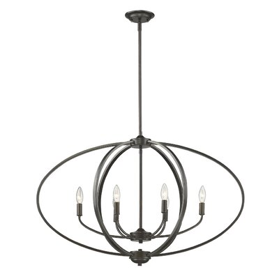 Carroll Valley 6-Light Foyer Pendant Finish: Etruscan Bronze
