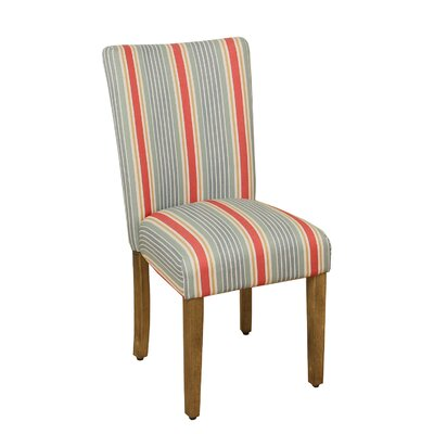 Antibes Striped Parsons Chair