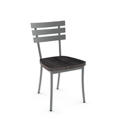 Glenham Solid Wood Dining Chair Finish: Gray