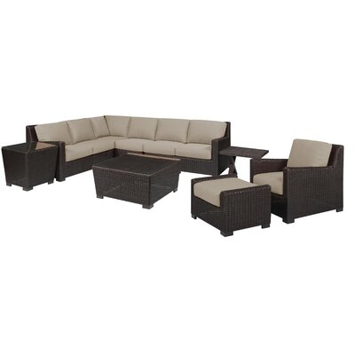 Wonderful Oakely Deep Seating Group Cushions - Product picture - 2255