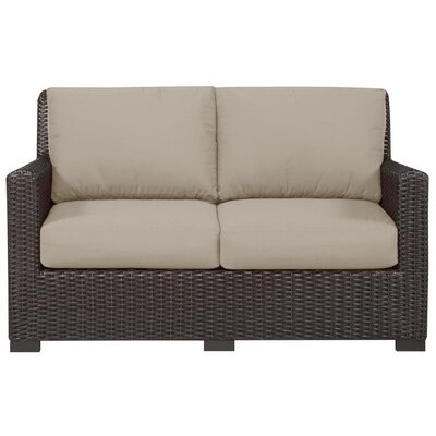 Lindzee Sunbrella Loveseat with Cushions