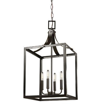 Sherri-Ann 4-Light Foyer Pendant Finish: Heirloom Bronze