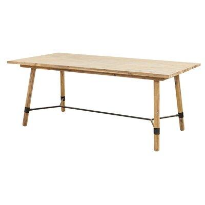 Fiatt Dining Table Table Size: 30 H x 76 L x 38 W