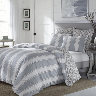 Eola 3 Piece Reversible Duvet Set Size: Full/Queen