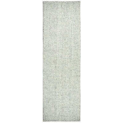 Marsh Hand-Tufted Wool Green Area Rug Rug Size: Runner 26 x 10