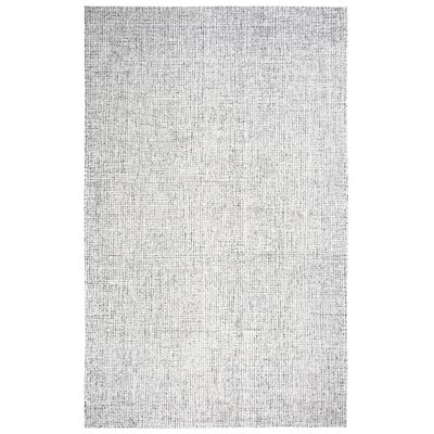 Marsh Hand-Tufted Wool Gray Area Rug Rug Size: Runner 26 x 8