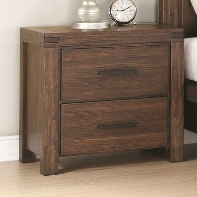 Circe 2 Drawer Nightstand
