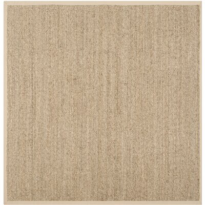 Lemoyne Brown Area Rug Rug Size: Square 8