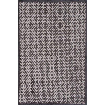 Gatineau Ivory & Gray Area Rug Rug Size: 5 x 76