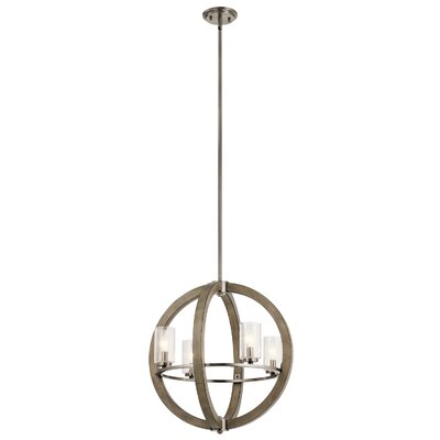 Christenson 4-Light Globe Pendant