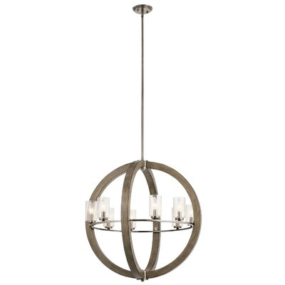 Erable 8-Light Globe Pendant