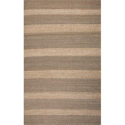 Gautier Brown/Beige Solid Area Rug Rug Size: 5 x 8