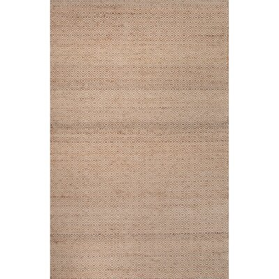 Gideon Beige/Brown Geometric Area Rug Rug Size: Rectangle 4 x 6