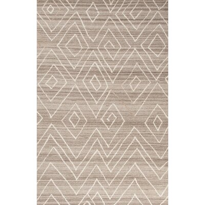 Gena Hand-Tufted Ivory/Natural Area Rug Rug Size: 2 x 3