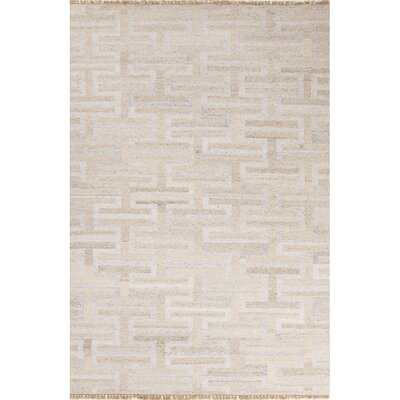 Gendreau Ivory/White Area Rug Rug Size: Rectangle 8 x 10
