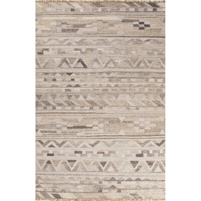 Gendreau Gray/Taupe Area Rug Rug Size: Rectangle 9 x 12