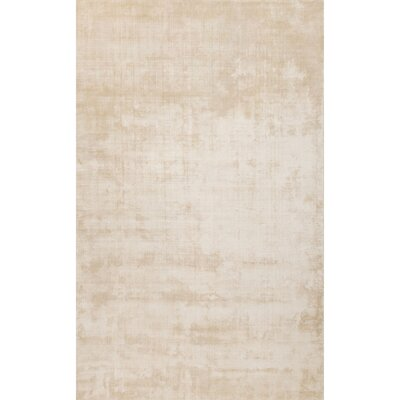 Geff Hand-Loomed Taupe/Tan Area Rug Rug Size: Rectangle 5 x 8