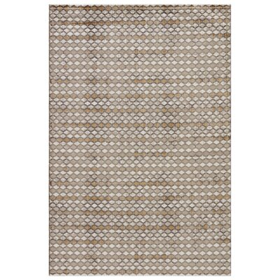 Geneva Taupe/Walnut Area Rug Rug Size: 76 x 96