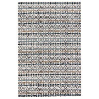 Geneva Taupe/Gray Area Rug Rug Size: 76 x 96