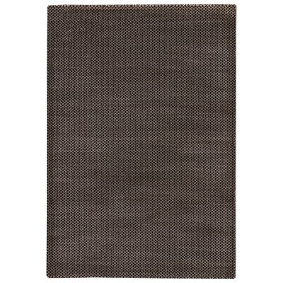 Berwick Tan/Walnut Area Rug Rug Size: Rectangle 53 x 76