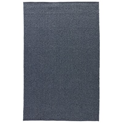 Genevrier Dark Slate Indoor/Outdoor Area Rug Rug Size: 2 x 3