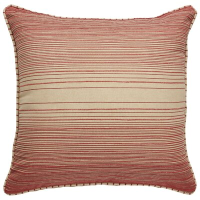 Zayden Cotton Throw Pillow Color: Pebble/Copper Brown