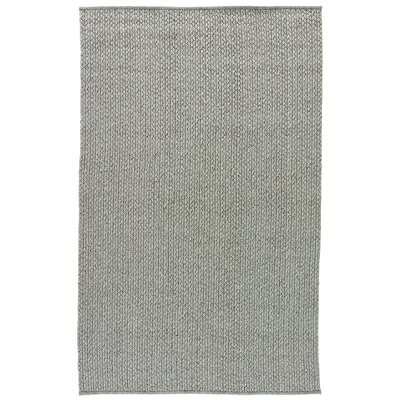 Genevrier Gray Indoor/Outdoor Area Rug Rug Size: 76 x 96