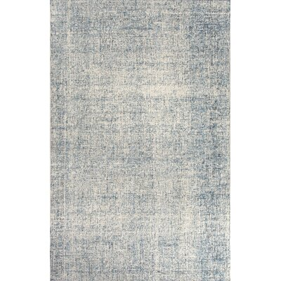 California Bay Hand-Tufted Beige/Blue Area Rug