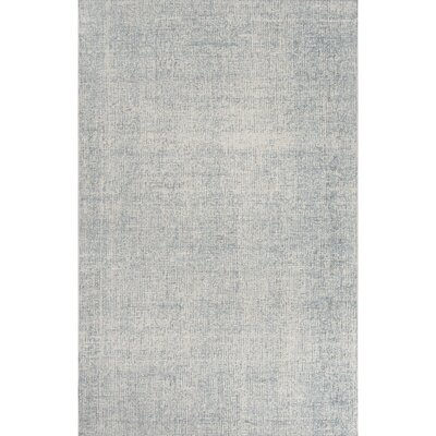 California Bay Wool Hand Tufted Silver Area Rug Rug Size: Rectangle 5 x 8