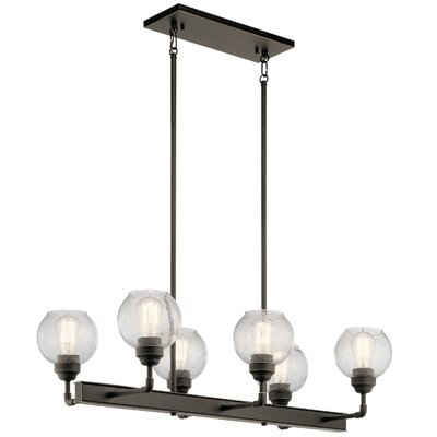 Killdeer 6-Light Kitchen Island Pendant