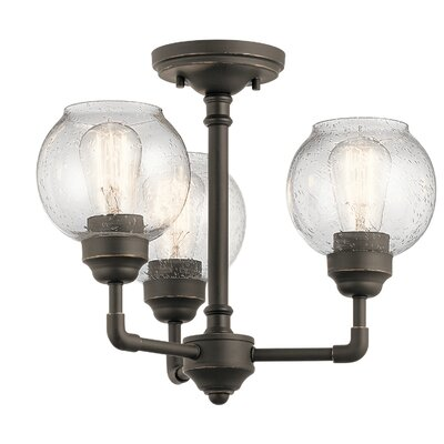Killdeer 3-Light Semi Flush Mount Finish: Olde Bronze