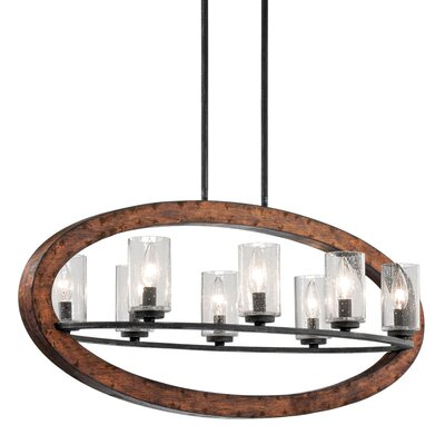 Christenson 8-Light Candle-Style Chandelier