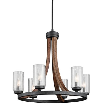 Christenson 6-Light Candle-Style Chandelier