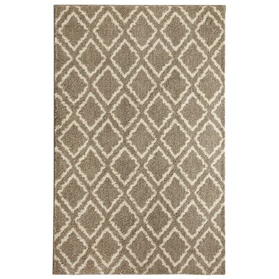 Cavanaville Fret Gray/Beige Area Rug Rug Size: Rectangle 5 x 8