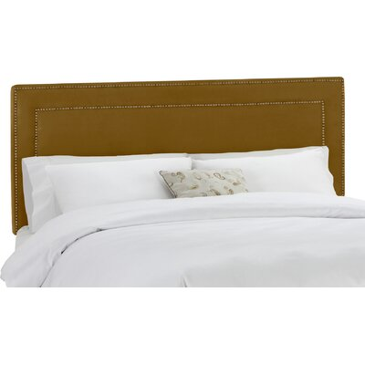 Ibin Upholstered Panel Headboard Size: King, Upholstery: Mystere Moccasin