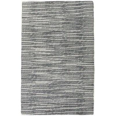 Gertrude Gray/Ivory Rug Rug Size: 5 x 8