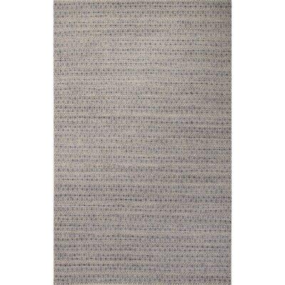 Turton Blue/Taupe Area Rug Rug Size: Rectangle 96 x 136