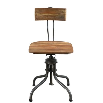 Zona Adjustable Swivel Bar Stool