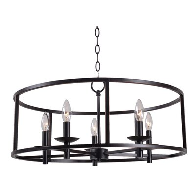 Hampstead 5-Light Foyer Pendant