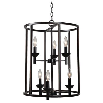 Hampstead 6-Light Foyer Pendant