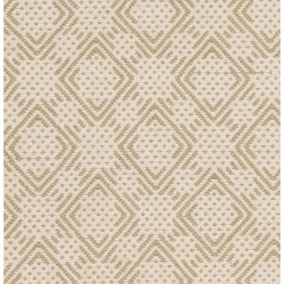 Loretto Cotton Hand-Woven Beige/Ivory Area Rug Rug Size: 4 x 6