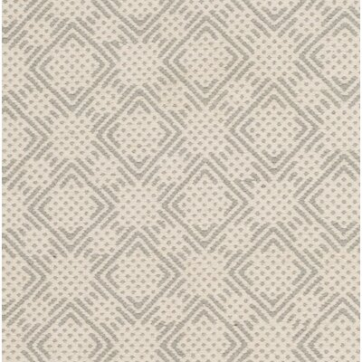 Chauncey Cotton Hand-Woven Gray/Ivory Area Rug Rug Size: 8 x 10
