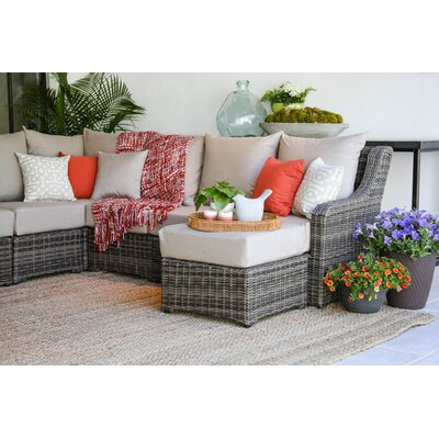 Valentin Reversible Deep Seating Sectional Seating Group